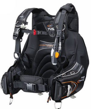 TUSA Conquest II best scuba bcd for beginners