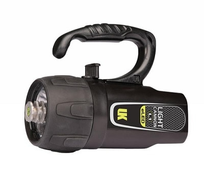 Underwater Kinetics Light Cannon eLED L1 Dive Light best underwater scuba flashlight