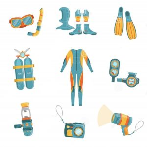 scuba diving gear list and guide