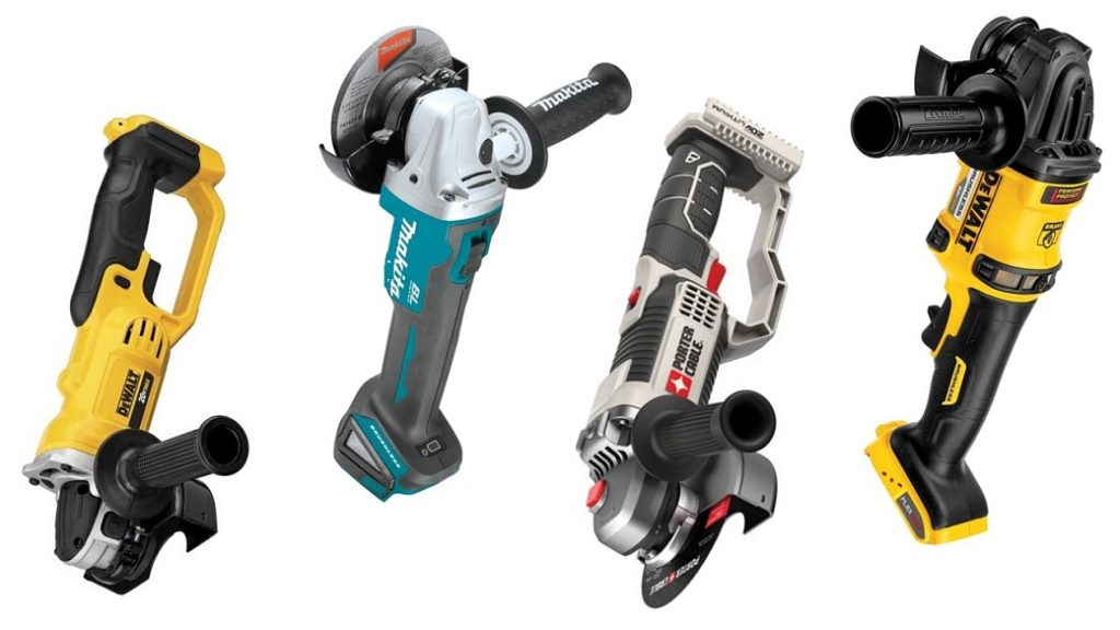 The Best Cordless Angle Grinders & Buyer's Guide For 2018